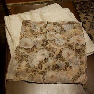 Accessories - Pair of Silk Scarves